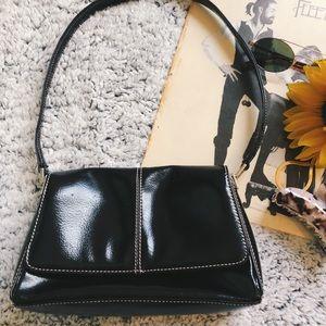 Vintage / 90s / Y2K Mini Black Shoulder Bag
